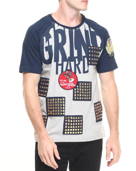 grind hard t shirt