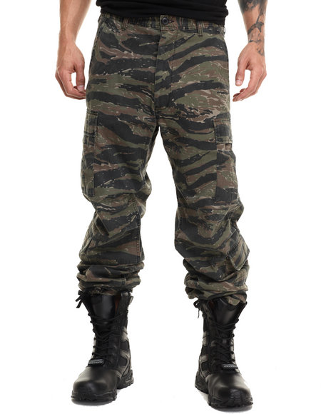 Rothco Men Rothco Vintage Camo Paratrooper Fatigue Pants Tiger Stripe Camo Small