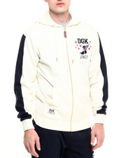 Outerwear - DGK x JT&CO Timeless Custom Zip Fleece Hoodie