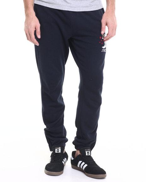Dgk Men Dgk X Jt&Co Timeless Fleece Pants Navy Medium