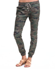 Bottoms - Coated Twill Moto Jogger