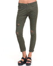 Women - Rip & Repair Twill Boyfriend Pant