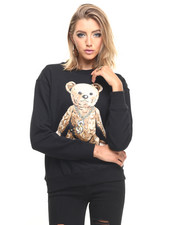 Sweatshirts - Rock Teddy Crewneck Sweater