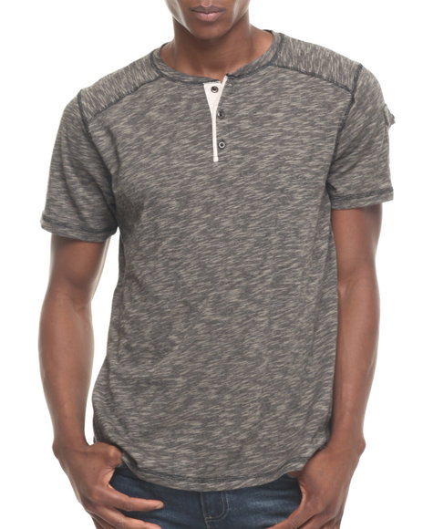 Buyers Picks - Men Black Marcus S/S Henley