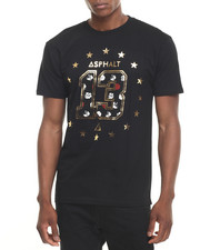 Men - Polka Rose 13 Print Fill Tee