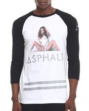 Asphalt Yacht Club - Girls Split Raglan Tee