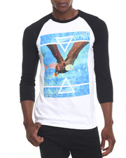Men - Delta Eagle Raglan Tee
