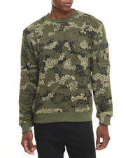 Men - Woodbrook Crew Print Sweatshirt