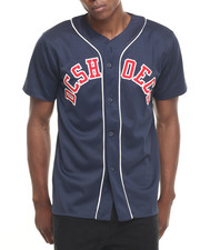 DC Shoes - Butner Solid Baseball Jersey