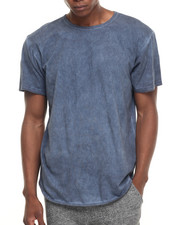 Men - Midnite Dyed Elongated S/S Tee