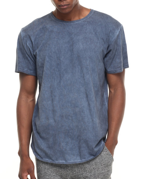 Eptm. - Men Navy Midnite Dyed Elongated S/S Tee