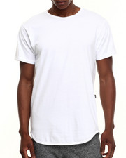 Men - Side - Zipper Elongated S/S Tee