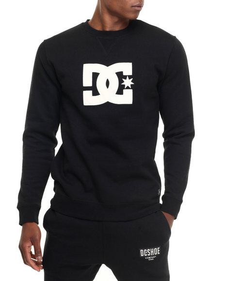 Dc Shoes - Men Black Ellis Crew Sweatshirt