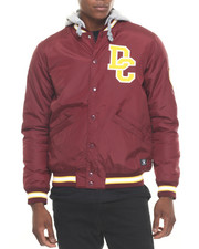 Outerwear - Colwood Hooded Varsity Jacket
