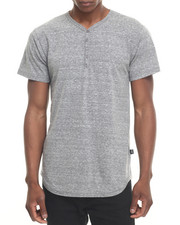 Men - 5 - Button Long S/S Henley
