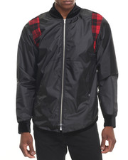 Outerwear - BUFFALO PLAID - PANEL WINDBREAKER