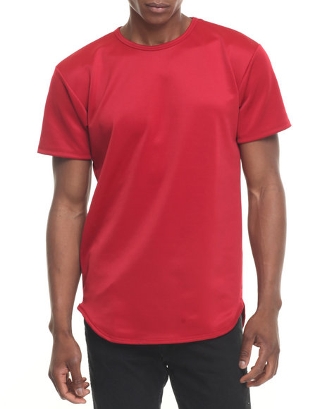 Eptm. - Men Red Essentials Techno Terry Elongated S/S Tee