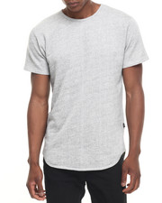 Men - ESSENTIALS TERRY TERRY ELONGATED S/S TEE