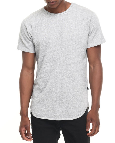 Eptm. - Men Grey Essentials Terry Terry Elongated S/S Tee