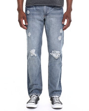 Men - Spencer Light Destructed Reg Fit Jean