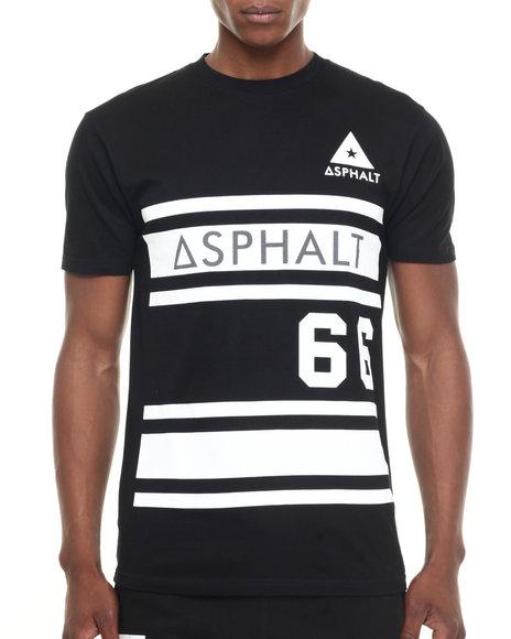 Asphalt Yacht Club Black T-Shirts