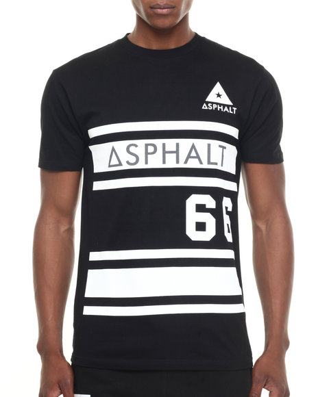 Asphalt Yacht Club - Men Black Mvp Tee