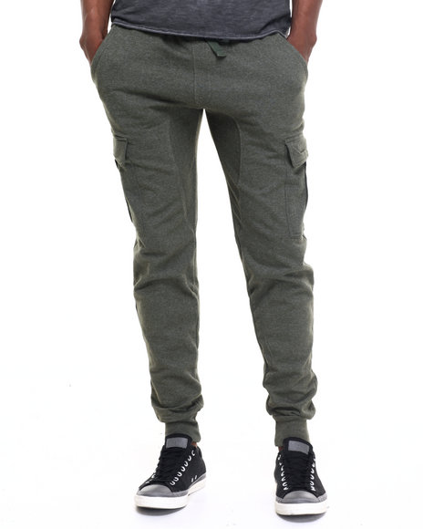 Buyers Picks - Men Olive Cargo Jogger