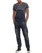 Jeans & Pants - Rip And Repair Denim Overalls