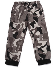 Boys - TREE TRACKER CAMO FLEECE PANT (4-7)