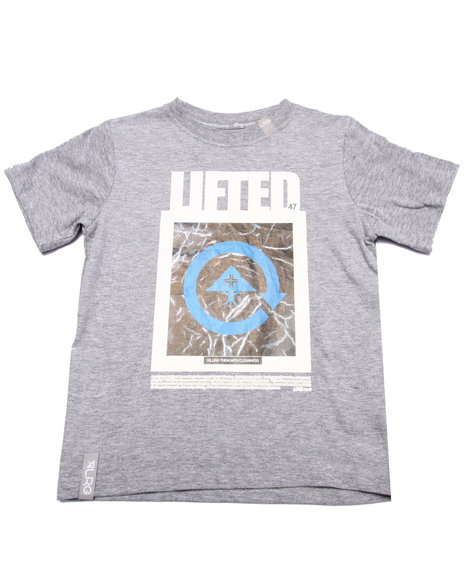 Lrg - Boys Grey Cleanness Tee (4-7)