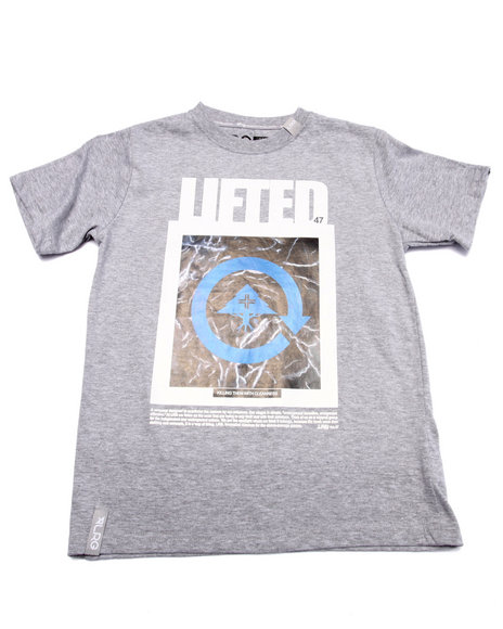Lrg - Boys Grey Cleanness Tee (8-20)