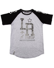 Boys - MONOGRAM BASEBALL TEE (8-20)