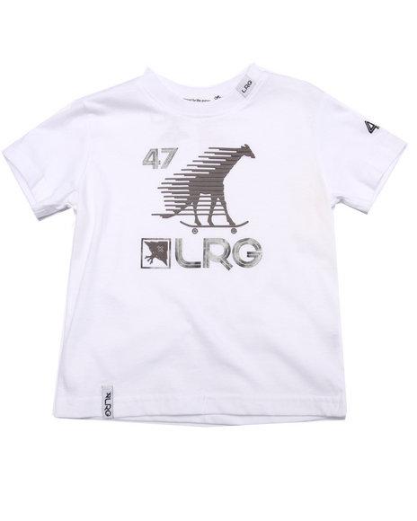 Lrg - Boys White Skate Giraffe Sport Tee (2T-4T) - $10.99