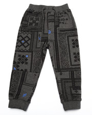 Bottoms - BANDANA JOGGERS (2T-4T)