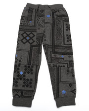 Bottoms - BANDANA JOGGERS (4-7)