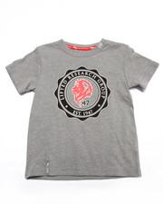 T-Shirts - LION CREST TEE (2T-4T)