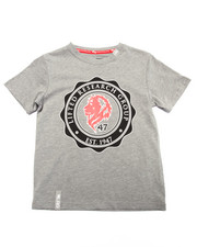 T-Shirts - LION CREST TEE (4-7)
