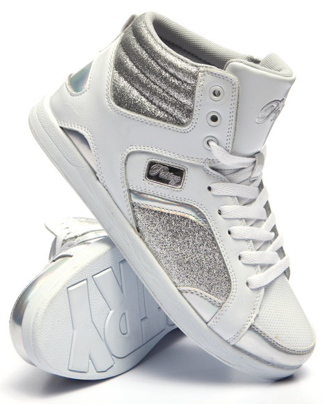 Pastry - Women Silver,White Sweet Court Sneaker