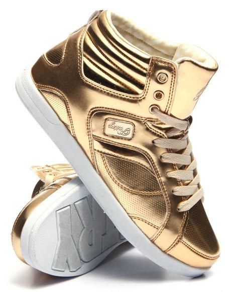 Pastry - Women Gold Sweet Court Sneaker - $51.99