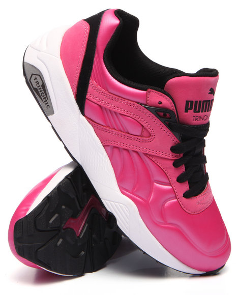 Puma - Women Pink R698 Matte & Shine Sneakers