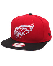 Men - Detroit Red Wings NHL Stock 9Fifty Basic 2 Tone Snapback Cap