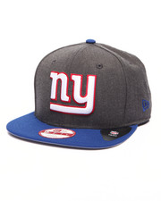 New Era - New York Giants NFL Stock Heather Graphite Team 9Fifty Snapback Cap
