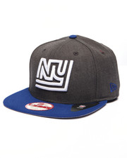 Men - New York Giants Historic NFL Stock Heather Graphite Team 9Fifty Snapback Cap