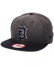 Men - Detroit Tigers MLB Stock Heather Graphite Team 9Fifty Snapback Cap