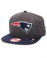 Men - New England Patriots NFL Stock Heather Graphite Team 9Fifty Snapback Cap