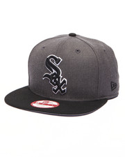 Men - Chicago White Sox MLB Stock Heather Graphite Team 9Fifty Snapback Cap