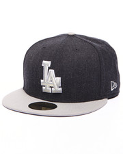 Men - Los Angeles Dodgers MLB Stock Heather Navy Gray 9Fifty Fitted Cap