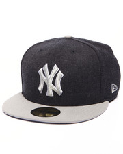 Men - New York Yankees MLB Stock Heather Navy Gray 9Fifty Fitted Cap