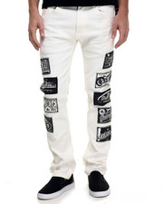 Jeans & Pants - Montana Retro Moto sign patch denim Jeans
