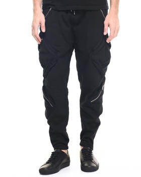 Sweatpants - Zip cargo Sweatpants